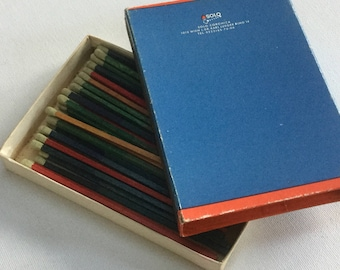 Solo safety matches match box vintage match book