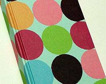 Polka Dots Pocket Sized Journal or Sketchbook