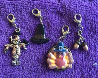 Thanksgiving Dangle Charms