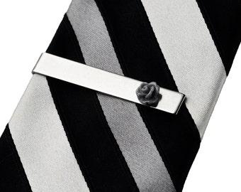 Rose Tie Clip
