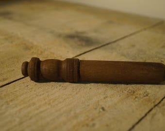 Vintage Wooden Pill Holder