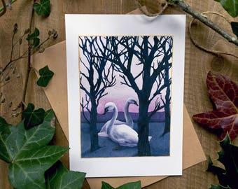 Winter Stillness - Holiday Greeting Card