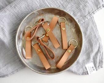 Porte-clés en cuir pas 3