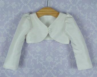 Girls Christening Bolero Jacket