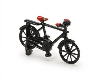 Miniature bicycle-Tiny sports bikel-Dollhouse supplies