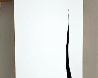 Original minimal Ink abstract art painting - Line art, art, abstract, minimalist abstract art, large wall art, modern art, minimal abstract