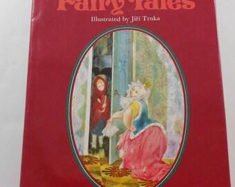Hans Christian Andersen Fairy Tales Jiri Trnka Illustrator Vintage 1975 Nursery Decor