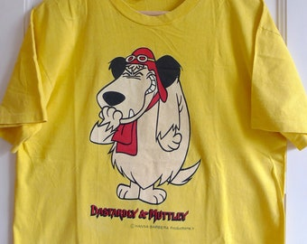 Vintage 1990s Muttley Whacky Races Hanna Barbera Hanes Tee XL Made In USA o2SyP
