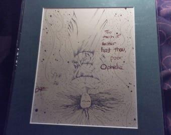 Ophelia (Shakespeaks collection)