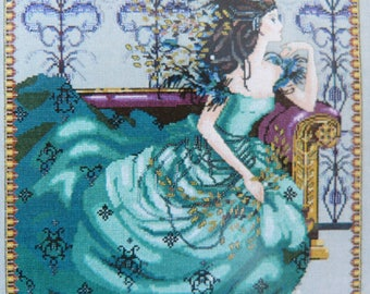Cassiopeia embroidery