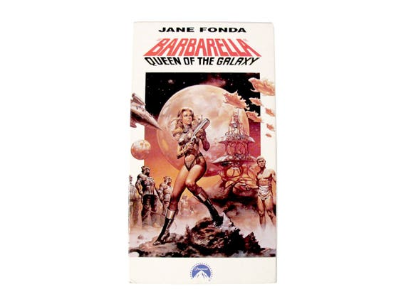 Barbarella Queen of the Galaxy VHS