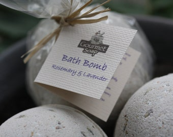 Rosemary and Lavender Bath Bomb