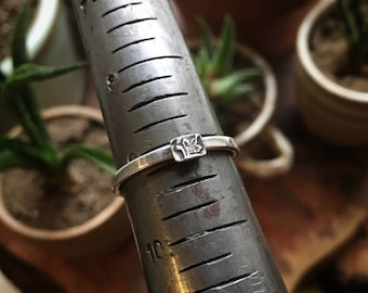 Sterling Silver Stacking Ring/ Silver/ Ring/ Silver Ring/ Sterling Ring/ Sterling Silver Jewelry/ Stackable Silver Ring/ Stackable/ Stacking