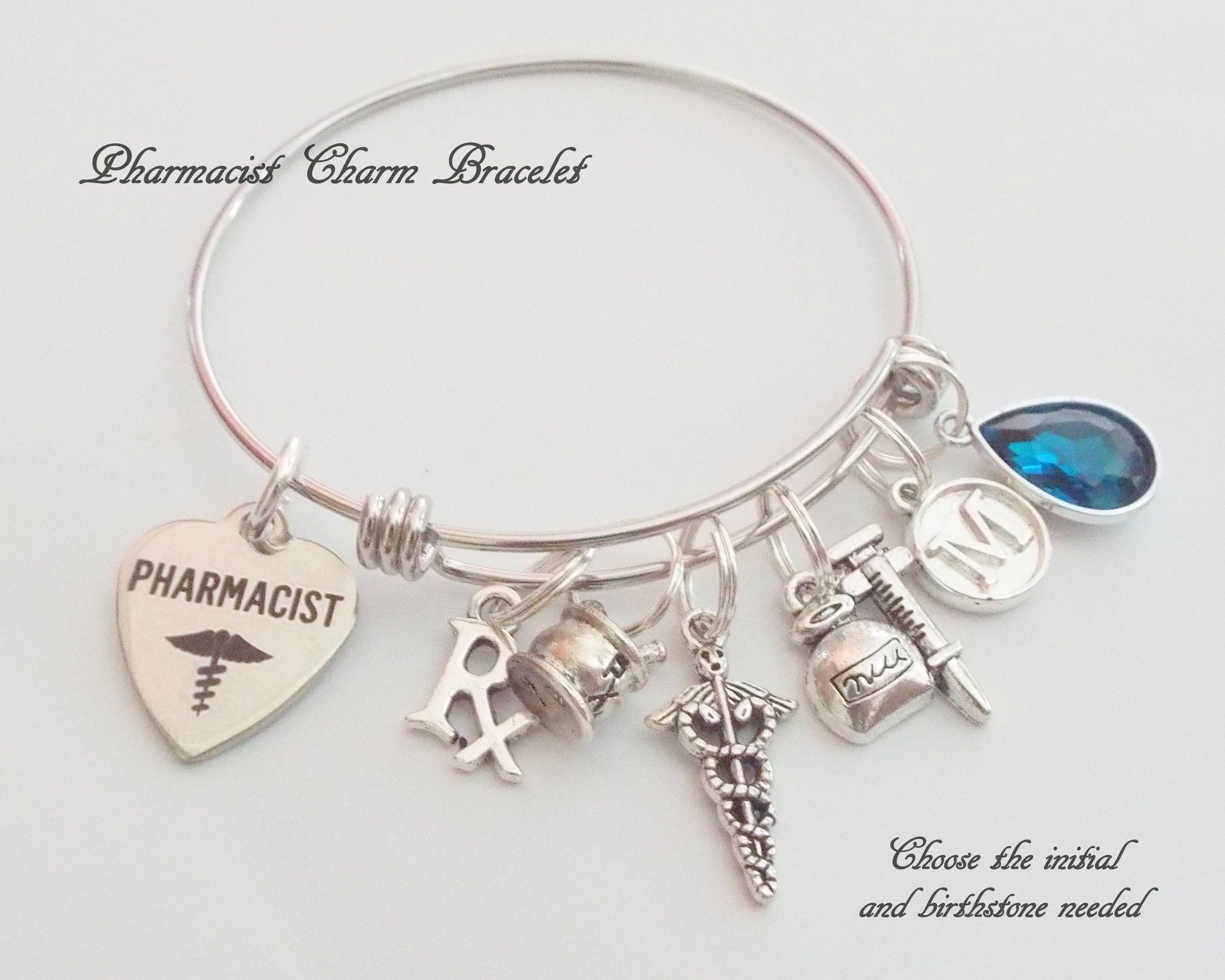 for gifts gift graduation senior pin bracelet girls personalized