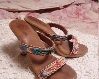 Sbicca 1976 High Heel Sandals