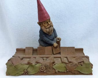 Vintage Cairn Studio Tom Clark Woodspirit Scrabble