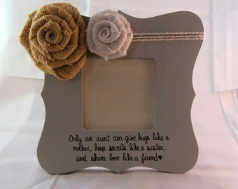 Aunt picture frame