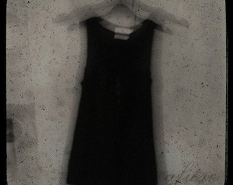 The Black - Fine art photograph, 8x8 print