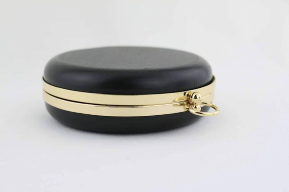 Circle box Clutch frame, O ring box Clutch frame, Minaudiere round ...