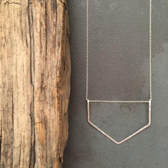 Small Chevron Necklace