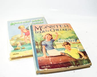 Monster Book for Children & Monster Book for Tinies