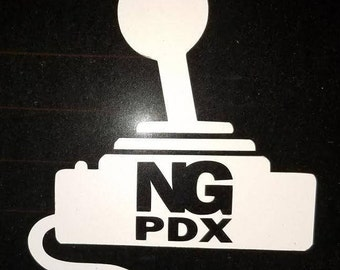 Nameless Gamers PDX Decal
