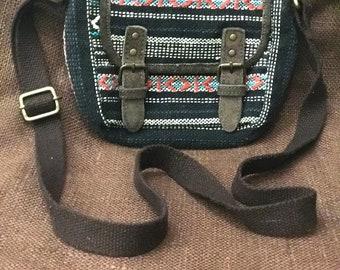 Boho Crossbody Small Bag, Boho small purse, boho southwest purse, boho Mexican Purse, woven purse, woven crossbody purse