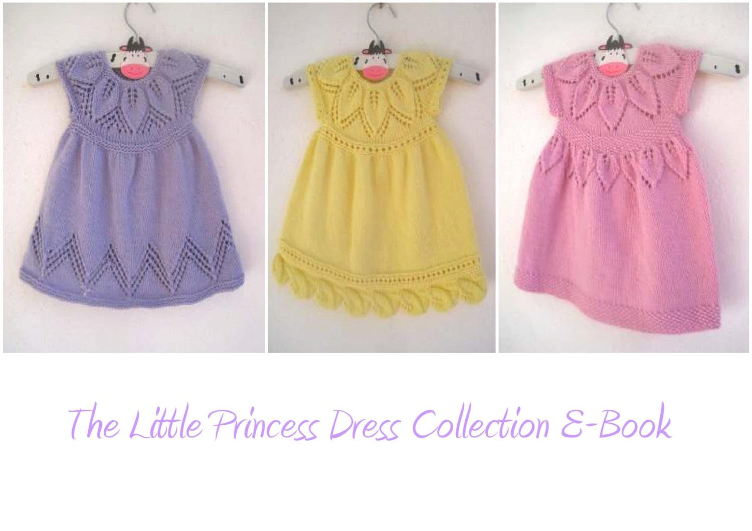 The Little Princess Dress Collection Knitting Pattern E-Book