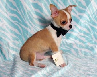 Dog Cuff Links and Bow Tie - Ruff Cuffs