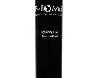 Bello Moi Tightening Elixir Skincare  / Natural Skin Care Serum with DMAE, Hyaluronic Acid, GABA and Aloe Vera