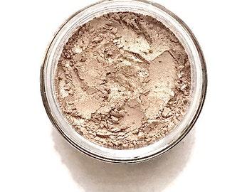 Sugar  - Golden Nude Shimmer | Vegan Mineral Eyeshadow | Loose Powder Eyeshadow | Nude Eye Shadow | Metallic Eyeshadow | Shimmer Eyeshadow