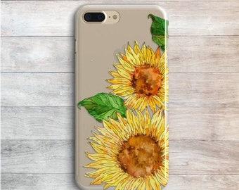 sunflower phone case samsung s8