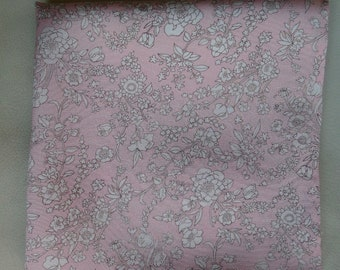 Summer Blooms Liberty of London silk pocket square