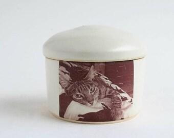Small Photo Pet Urn - photo urn, small pet urn, cremation, cat urn, dog urn, custom urn, urn cremation