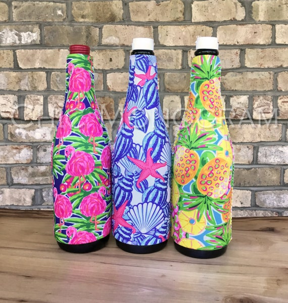 Custom Wine Bottle Sleeve Hostess Gift Personalized Wine Bottle Insulator Hostess Gift Ideas Teacher Gift Housewarming Gift