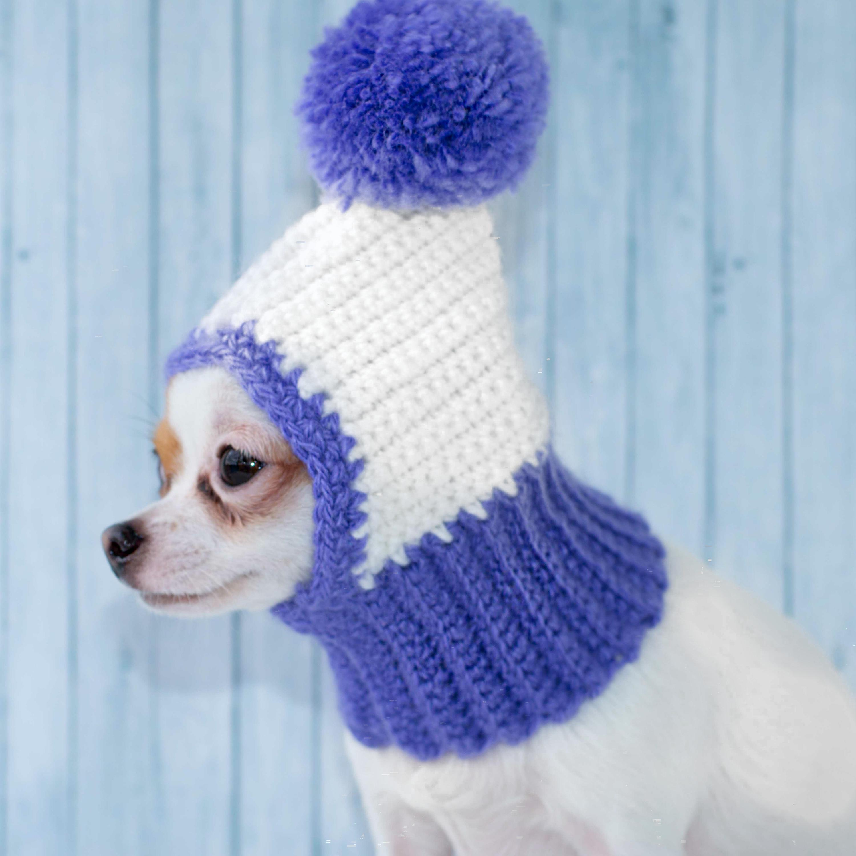 Lustiger Hund Hut gemütlich Mützen Hund Hut warme gestrickte