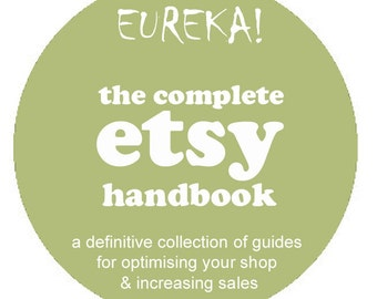 Sell Your Crafts - Etsy Seller Tutorials Kit Online Marketing - Be a Top Seller - 5 PDFs Best Seller