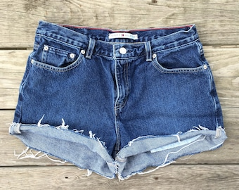 Tommy Hilfiger High Waisted Jean Shorts