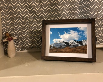 Colorado Mountains print w/ frame