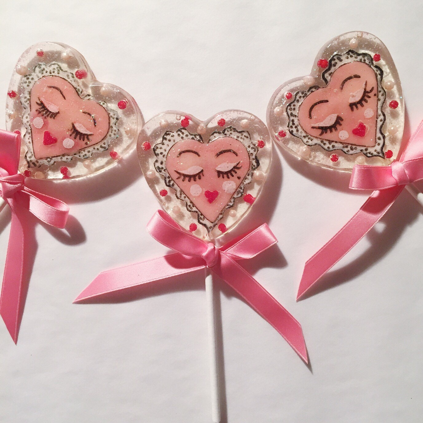 3 Strawberry Cream Sassy Valentine Celebration Favors