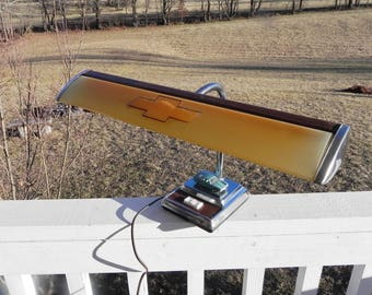 Chevy Desk Lamp - Vintage Electric Goose Neck Light
