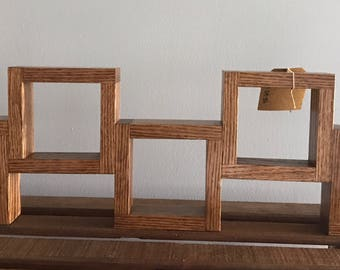 Connected Squares Shelf