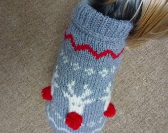 Christmas Dog Sweater-PDF Pattern