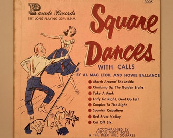 SQUARE DANCES With Calls - 10""