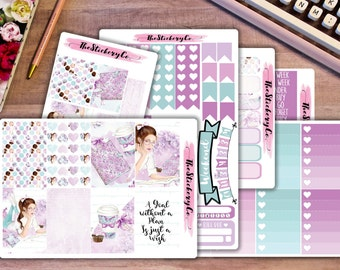 Happy Planner Weekly Kit -Planner Goals, Classic Happy Planner Weekly Kit