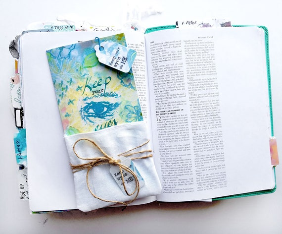 Keep your Eyes on Me - a Bible journaling creative devotional kit