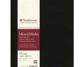 "Strathmore Mixed Media Art Journal 8.5""X11""  62566800"