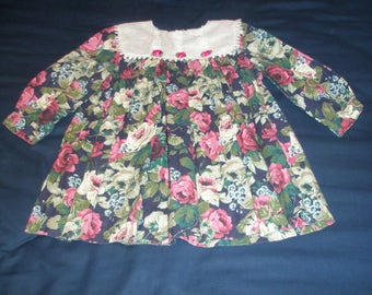 Rare Editions Floral Girl Dress Size 4T