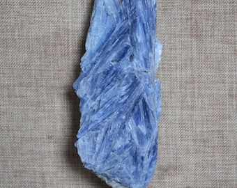 Rare Natural Raw Natural Kyanite Quartz Mineral specimens/Rough Kyanite Stone/Rarity Larger Raw Kyanite Specimen/Kyanite Gem-98*39*24mm 122g