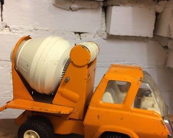 Retro Vintage Tonka Truck Cement Mixer